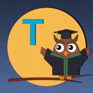 letter T_owl