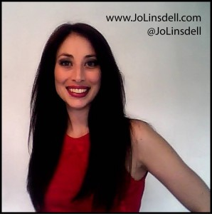 Jo Linsdell, author and marketing expert