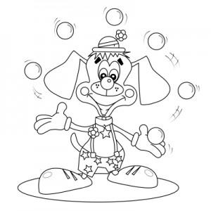 Dog Juggling (cartoon)