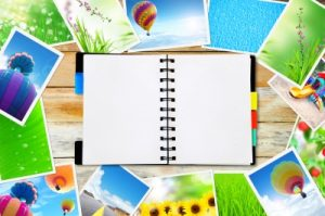 notepad and photos, twobee at FreeDigitalPhotos.net
